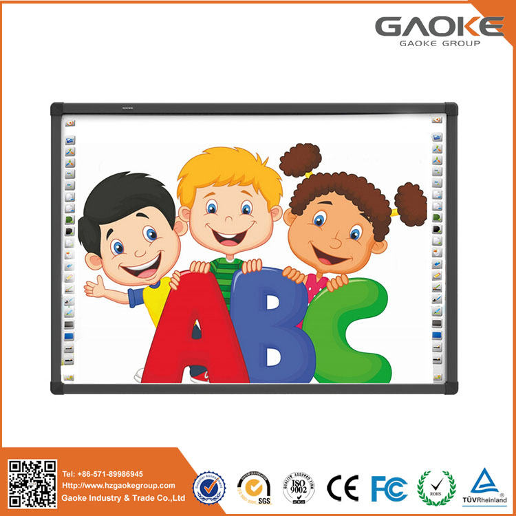 finger writing board pen or finger writing digital vision touch interactive whiteboard education software 96 inch smart board