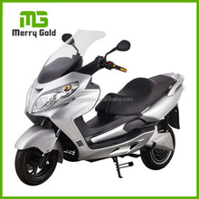 Chinese EEC certificated silver color electric motorcycle scooter