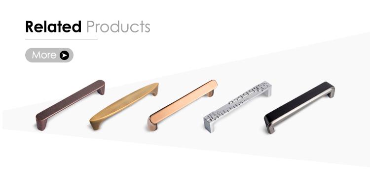 Nieuwe ontwerp plastic lade dubbelzijdig flush vierkante deur pull handvat