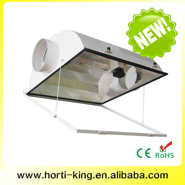 Horticulture aluminum greenhouse Air Cooled double ended reflector