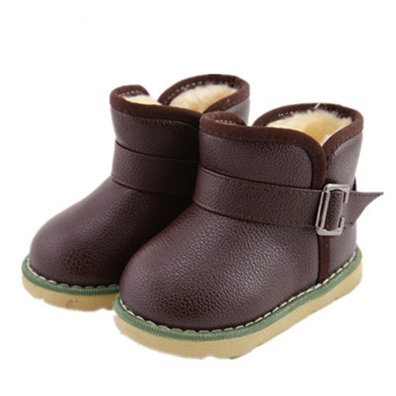 2a50e57a45bfa Get Quotations · 2015 winter fur boots baby shoes boys baby snow boots girls  short boots rubber sole anti