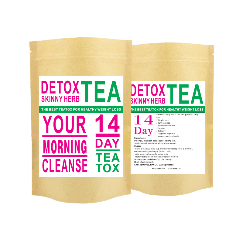 OEM Private Label Tummy Tea Detox Tea Weight Loss Detox Tea - 4uTea | 4uTea.com