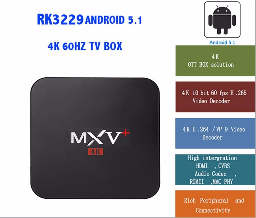 Vplus Mxv Rk3229 Quad Core Mini Mx Android Tv Box Factory Price Rk3229 Tv Box Wifi - Buy Support ...