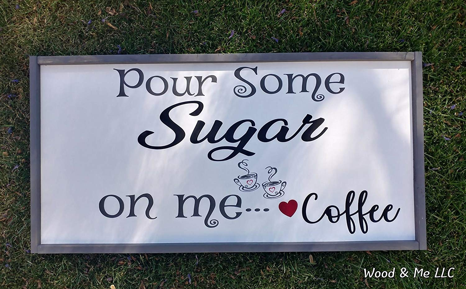 Coffee Bar Sign, Hand-Painted Wood Sign, Coffee, Kitchen Decor, Wall Art, Farmhouse, Shabby Chic, Rustic Sign, Vintage Decor, Housewarming Gift, Humorous Sign, Coffee Lover Sign