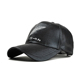 military male faux leather hat baby spring cap