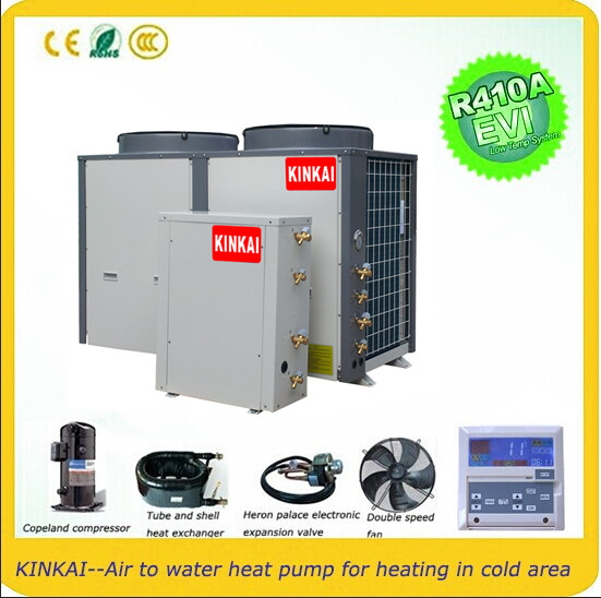 price list for Split heat pump air to water EVI monoblock type