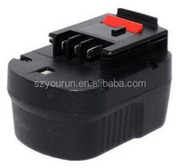 Blacker and Decker cordless drill battery, 18V 1300mah ni-cd Black and Decker PS145 power tool battery