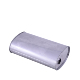 pipe end cap Aluminized Steel Stamped Box Rear Muffler