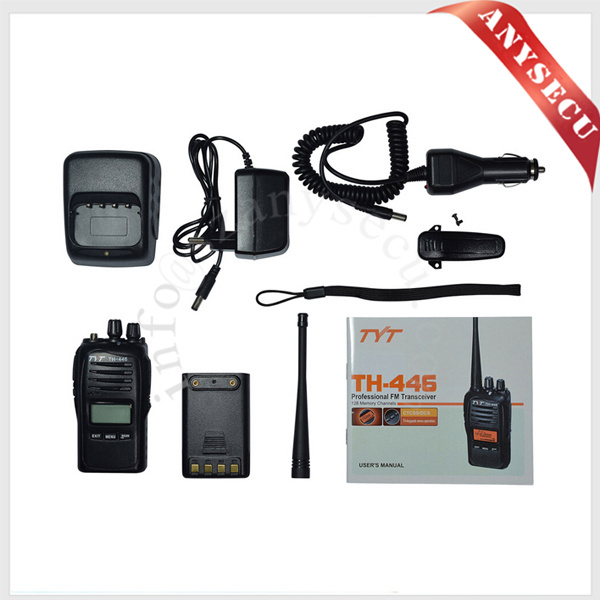 TYT PMR 446 Wholesale walkie talkie TH-446 0.5w cb radio tri-keypads menu operation walkie talkie digital pmr 446