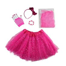 Top fashion birthday party theme supplies MAIN PRODUCT Christmas Party Clothing Girl Clothes Set