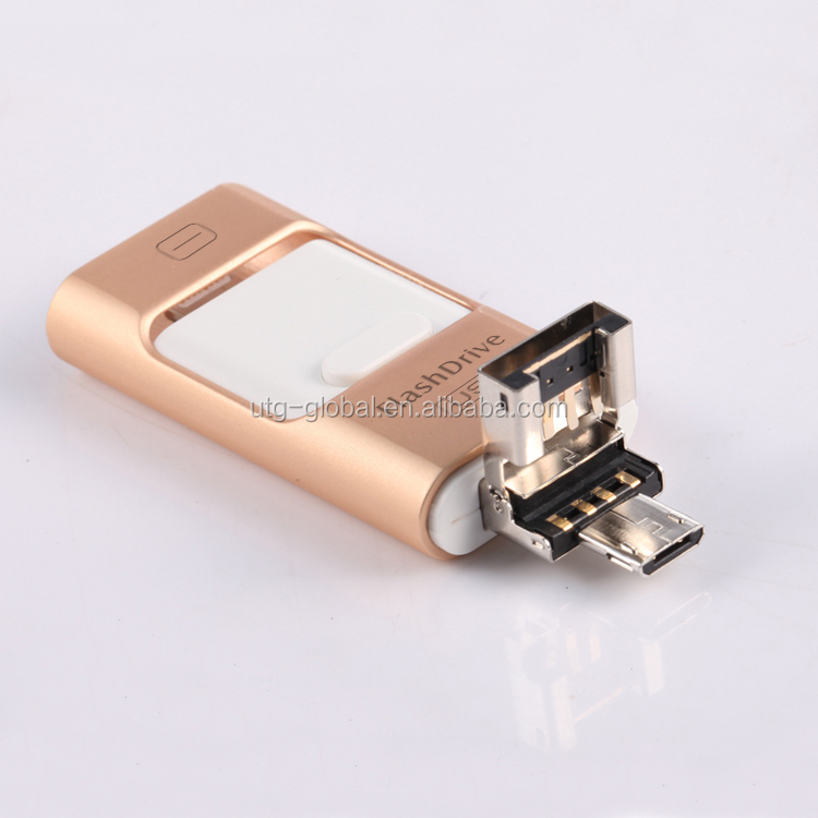 Hardware metal USB flash drive security lock code flash drive USB 3.0 iflash derive for iphone USB 3.0 Flash Drive