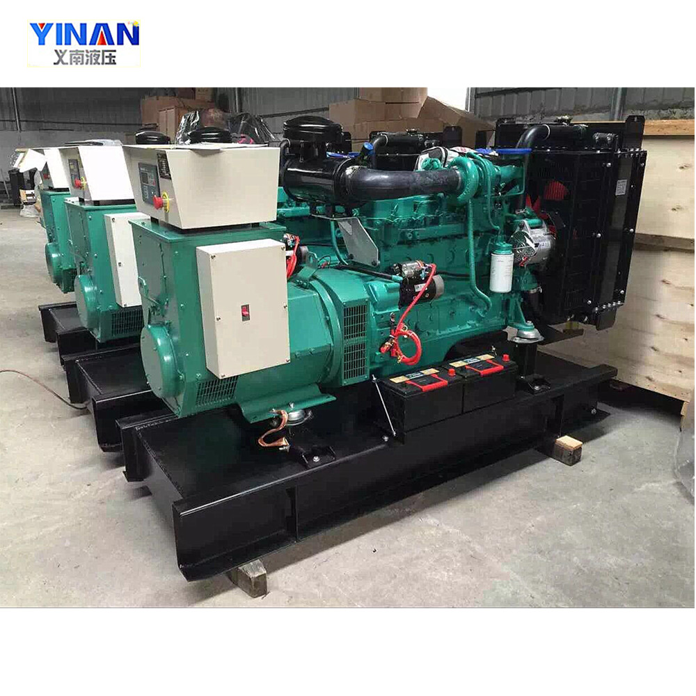 Yinan product best cost performance cheap diesel generator price in india with fuel system