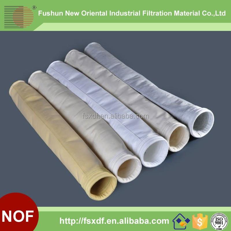 High Temperature Pps/aramid/nomex/fiberglass/p84 Filter Bag Filter ...