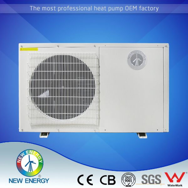 10kw 20kw titanium exchanger dc inverter air source swimming pool heat pump