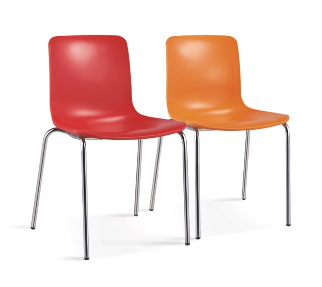 pp seat with metal legs red rugged plastic chair buy