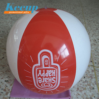 Promotion Gifts Branded Wholesale 6P Free PVC Inflatable Beach Balls