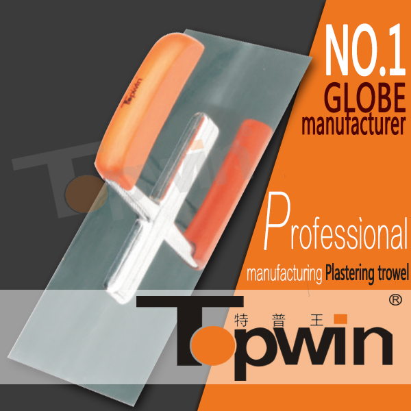 2017 Marshalltown quality stainless steel wooden handle trowel mirror polished accept OEM ODM