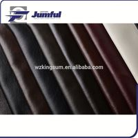 Embossed sofa fabrics and leather material for home sofa and chairs usage
