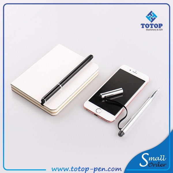 Small MOQ office supplier promotion notebook with pen