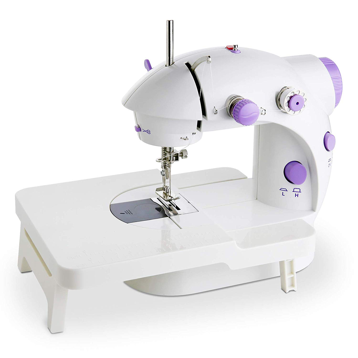 Buy Mini Portable Sewing Machine Double Speed Control Double