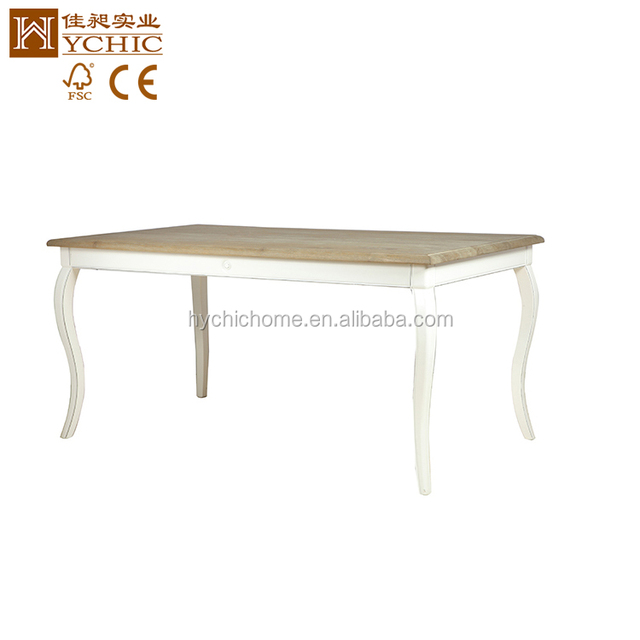 Fashion Design Antique White Wooden Coffee Table In The Living Room