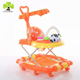 2017 High Quality baby trolley walker Multifunctional training old baby walker with pusher