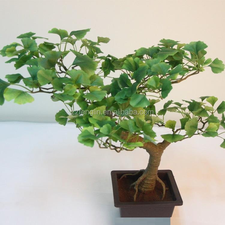 High Quality Decorative Artificial Ginkgo Bonsai Wholesale Natural