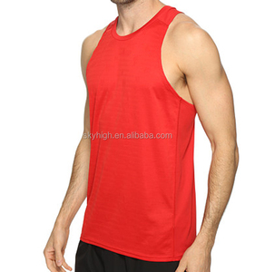 Fashion Dri-fit Men Tops Sleeveless Vest Gym Bodybuilding Apparel