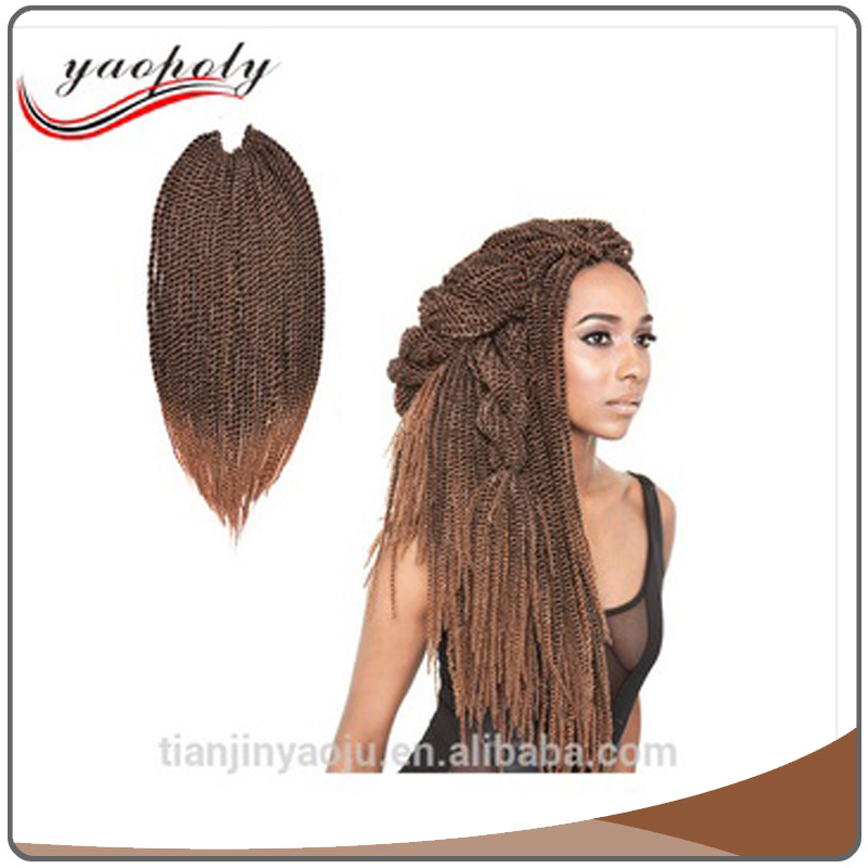 High quality main product 22 inch Synthetic Hair Crochet Braids 2X Jumbo Senegalese Twist supplies Havana Mambo Twist