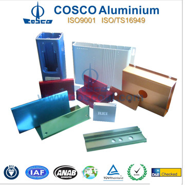 Customized Aluminium Extrusion Case Enclosure