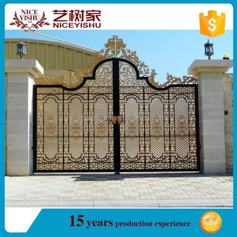 2016 Latest Main Gate Designs/ House Gate Designs/cast Aluminum Gate ...