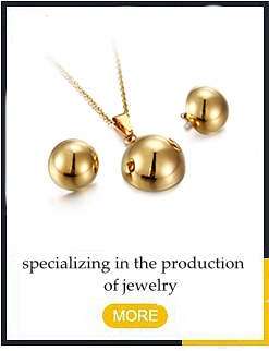 Gold Accessories Pearl Necklace Earrings Bridal  Women Jewelry Set