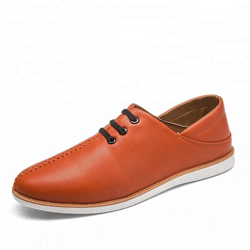fd0f0d3ebc4b19 Design de mode 2018 italien en cuir mocassin chaussures hommes mocassins  chaussures