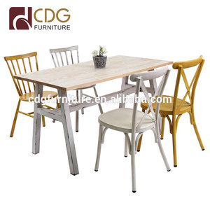 Restaurant Hand-made Antique Dining chair and furniture restaurant furniture wholesale high back antique