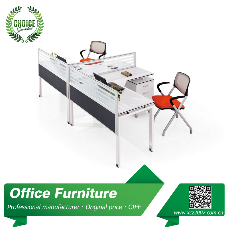 Office Desk For 2 People Work Table With Drawer Workstation Desk Table