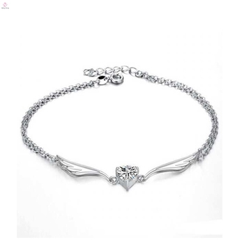 Fashionable Jewelry High Quality Sterling Silver Ankle Bracelet Antique Anklets