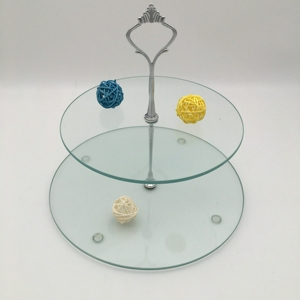 Factory Produce tiered mirror wedding cake stand hardware tall with good quality