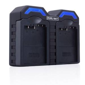 ReVIVE Series AC / DC Dual CB-5L , CB5L Camera Battery Charger w/ Interchangeable Charging Plates - Works for CANON 5D , 30D , 20D , BP511 , BP512 , BP514 , BP522 , BP535 , MV Series , ZR Series , Optura Series and More Camcorders!