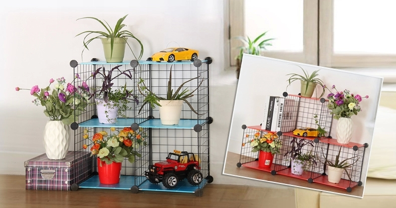 Optional Cubes Diy Wire Frame Interlocking Portable Wire
