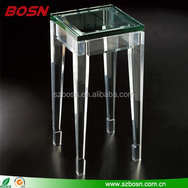 Modern Lucite Pedestal Table, Modern Lucite Pedestal Table Suppliers And  Manufacturers At Alibaba.com