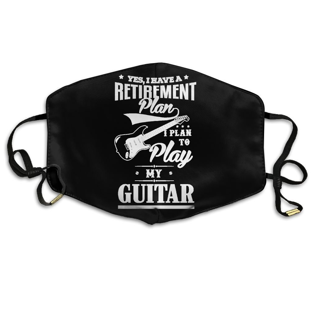Get Quotations · YES, I DO HAVE A RETIREMENT PLAN I PLAN TO PLAY MY GUITAR  - Anti