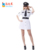 carnival women airline stewardess dress costumes hostess uniform costumes for adult