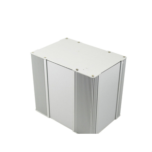 Adjustable size extruded aluminum Radio Components electronic enclosures