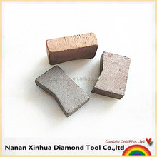 Made in China granite sandstone stone cutting diamond segment with efficiency