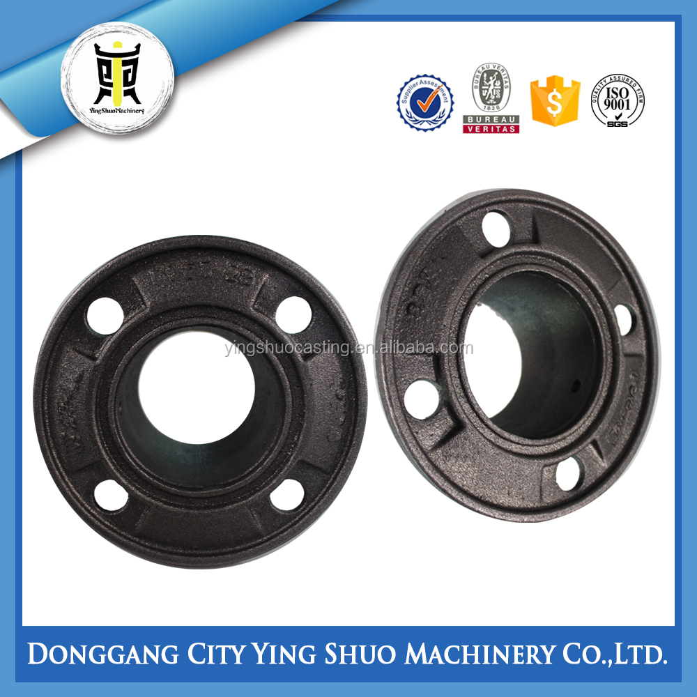 OEM waterworks pipeline system sand casting ductile iron pipe fitting flange socket piece