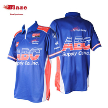 Best selling personalized digital printing sports t shirt racing