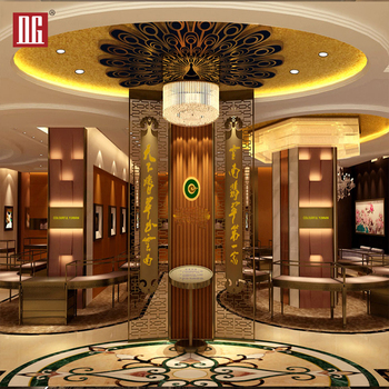 New Design Jewelry Showroom Interior Led Lighting For Display Cases