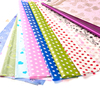 Plastic Film Wrap Colorful Gift Wrapping