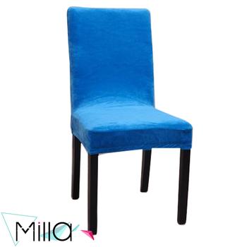 Blue Wedding Spandex Half Velvet Panne Chair Covers Buy Navy Blue