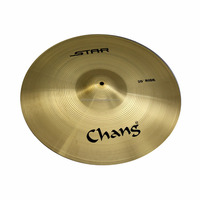 Chang Cheap Brass Cymbals Star Series For Drum Set For Practice Cymbals